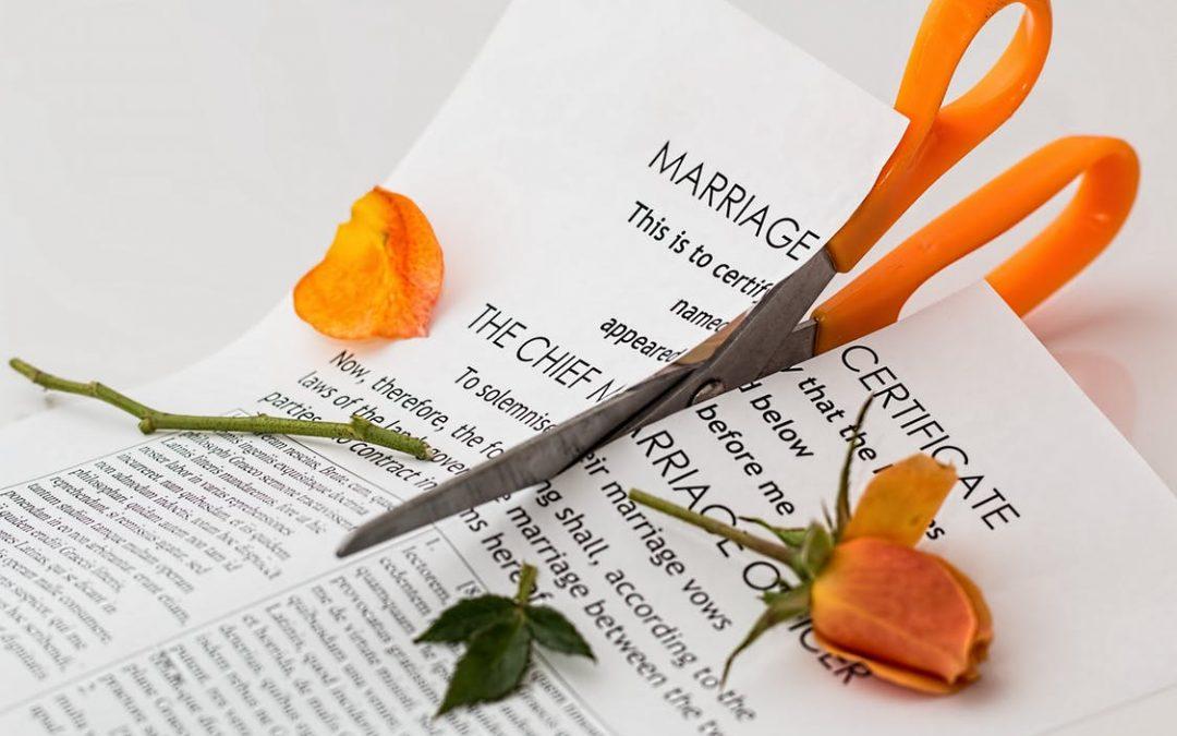 Gevolgen van echtscheiding